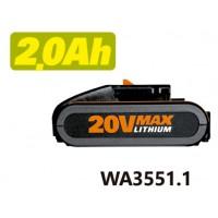 BATERÍA LI-ION 20V WA3551.1