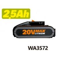 BATERÍA LI-ION 20V WA3572