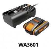 Batería li-ion 20 V + cargador A3860 WA3601