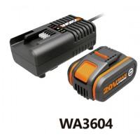 Batería li-ion 20 V + cargador A3860 WA3604
