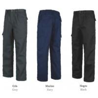 Pantalón B1416 Refuerzo en rodilla y culera.