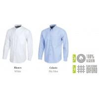 Camisa Manga larga algodón Oxford B8400
